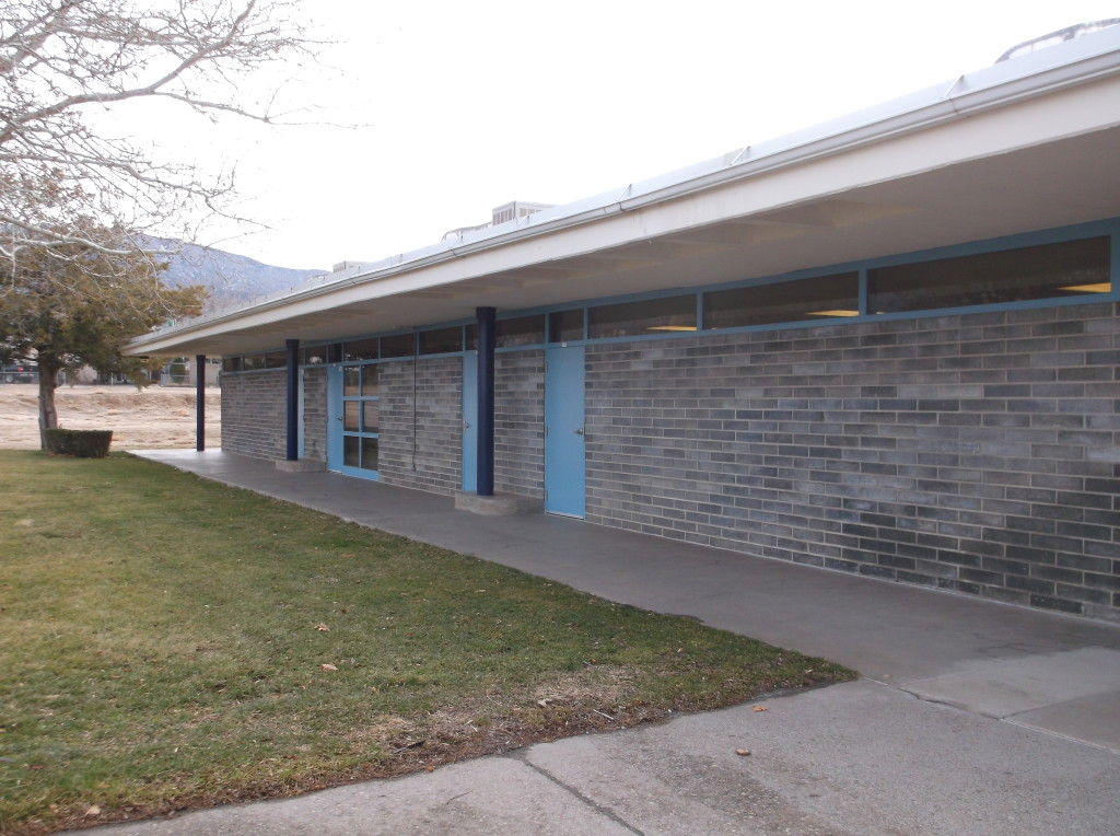 Figure 4. View of exterior, Acoma Elementary School, November 2015. Photograph by author.
